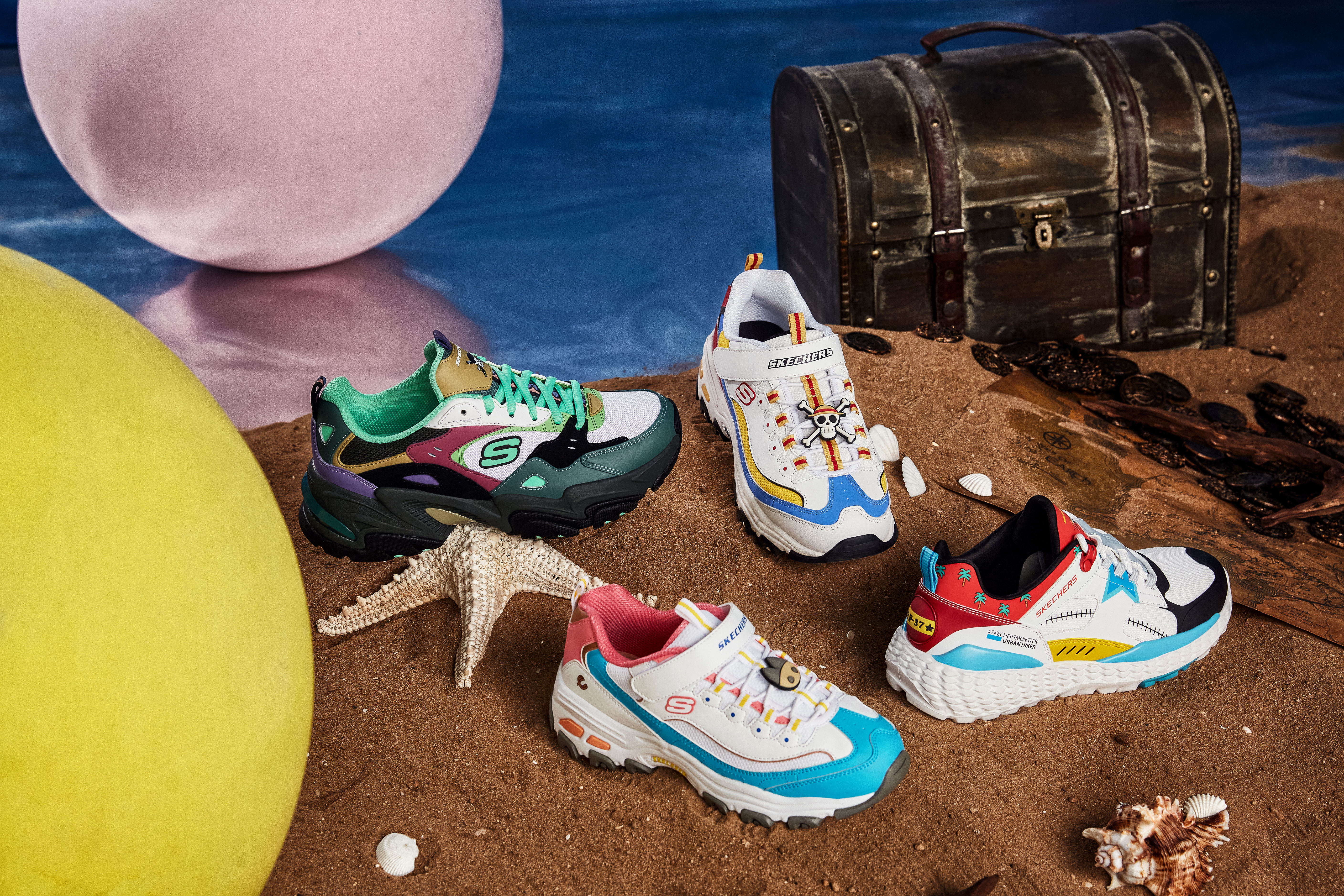 Skechers x One Piece Collection